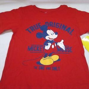Disney mickey mouse boys tee new/tags